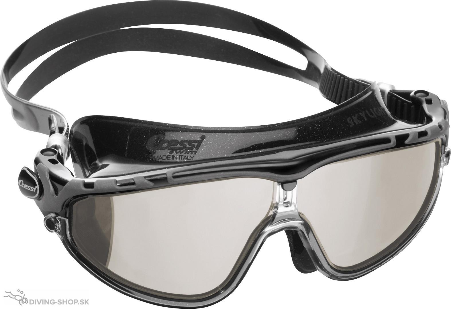 4e3e30ffa Plavecké okuliare SKYLIGHT zrkadlovým sklom   Diving-shop, overený ...